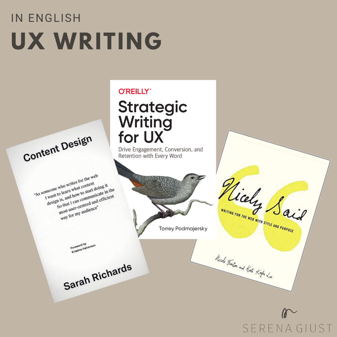 ux writing books